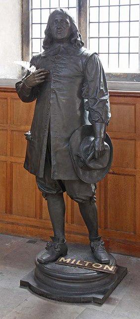 Milton Statue