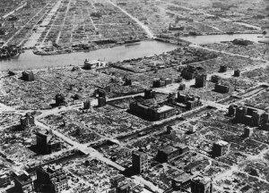 Firebombed Tokyo